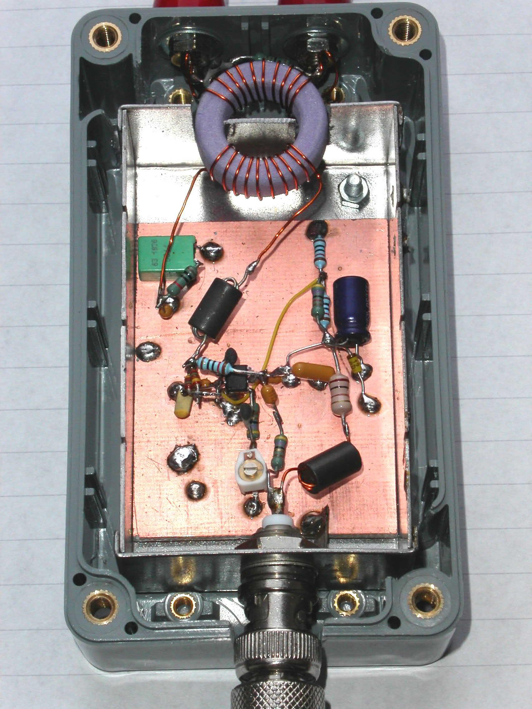 Single chip amplifier